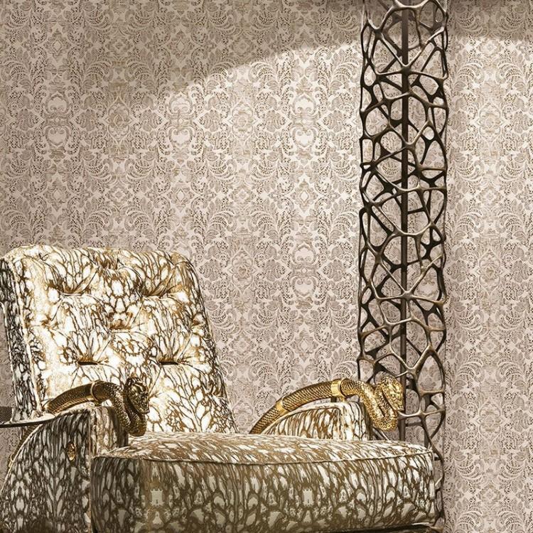 Carta da parati Roberto Cavalli Barocco Carta da parati Roberto Cavalli Leopardo Luxury