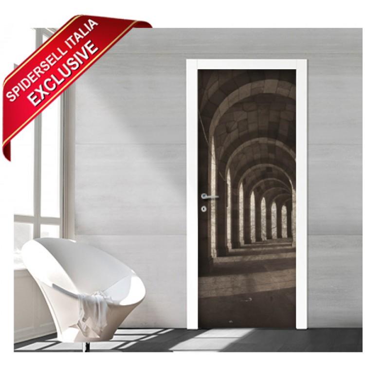 Adesivo per porte design | Tempio
