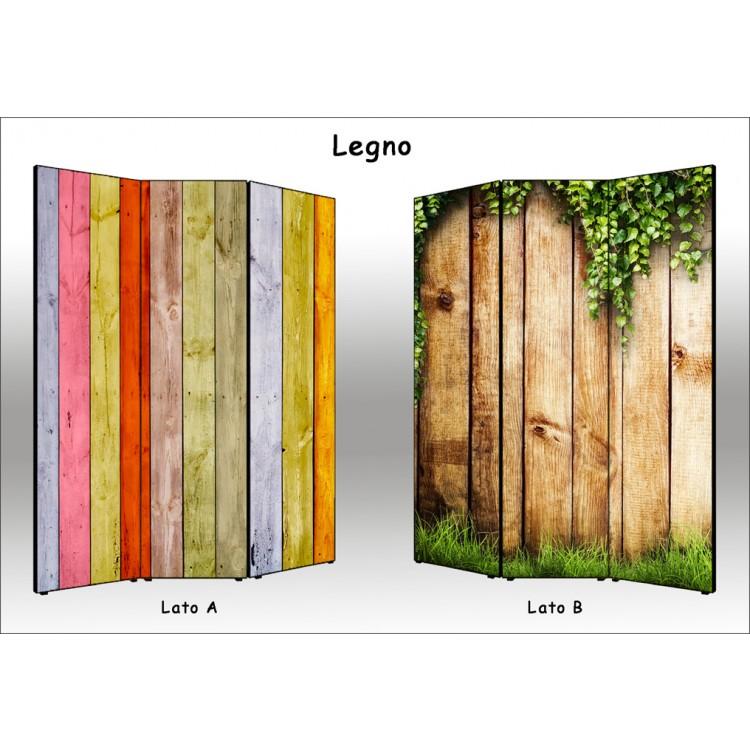 Paravento Legno | Separè divisorio assi di legno