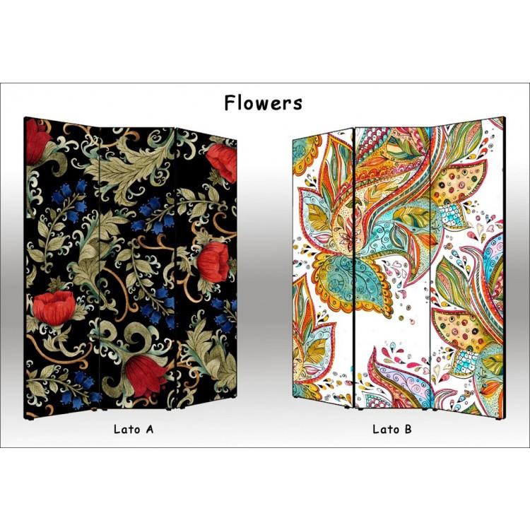 Flowers | Separè paravento divisorio di alta qualità