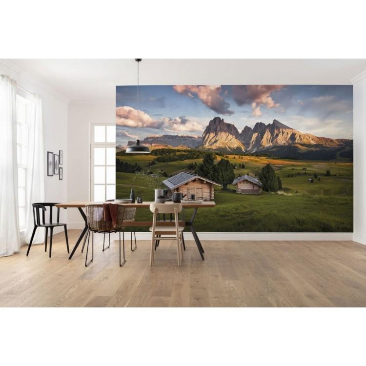 fotomurale Baite sulle Dolomiti
