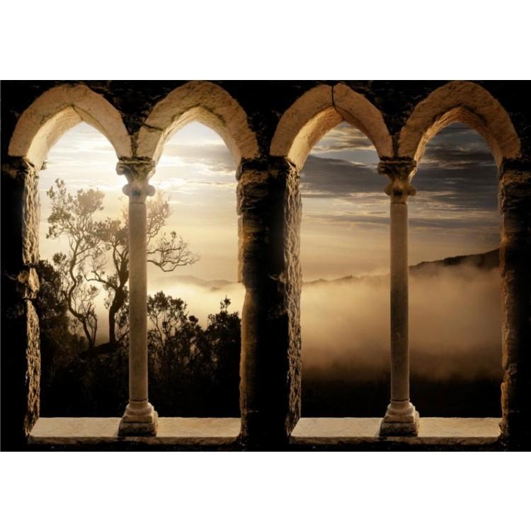 fotomurale monastero