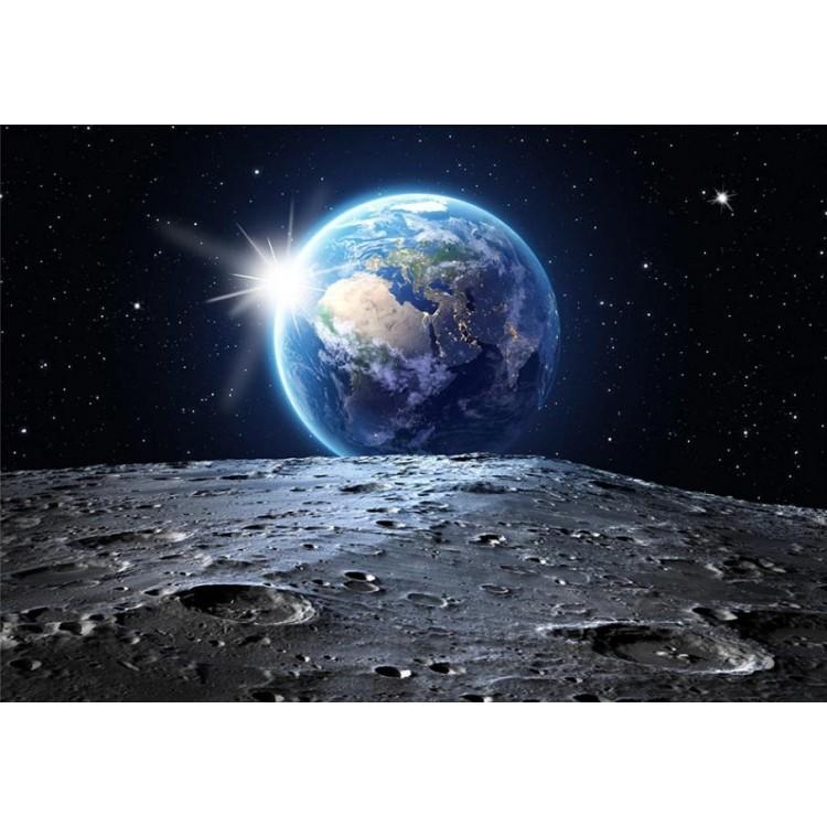 fotomurale sulla luna