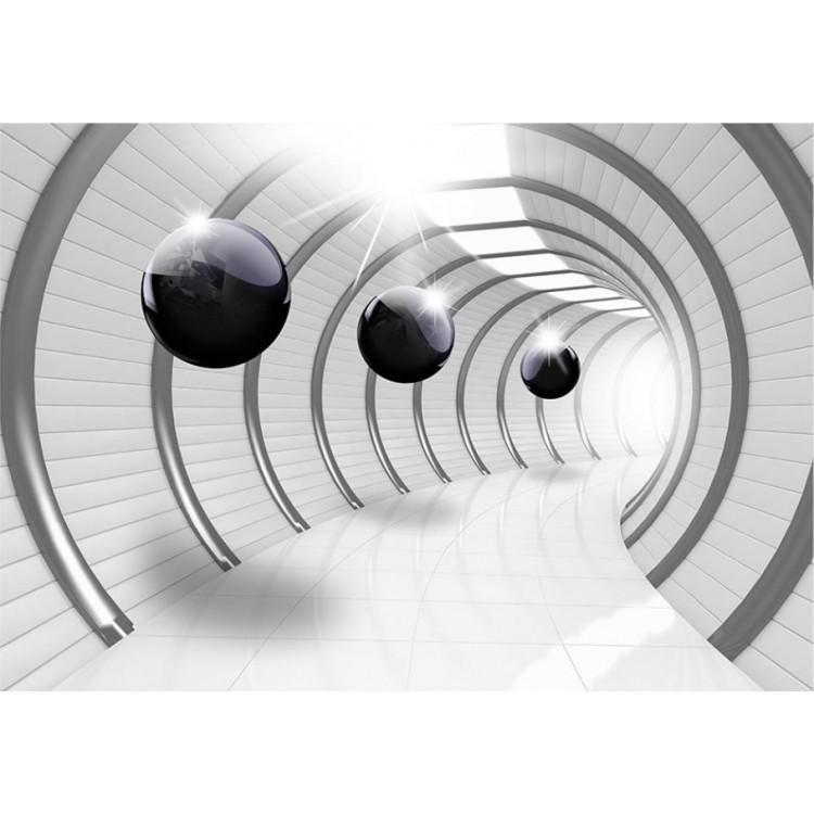 fotomurale tunnel verso il futuro