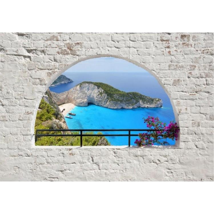 fotomurale arco sulla grecia
