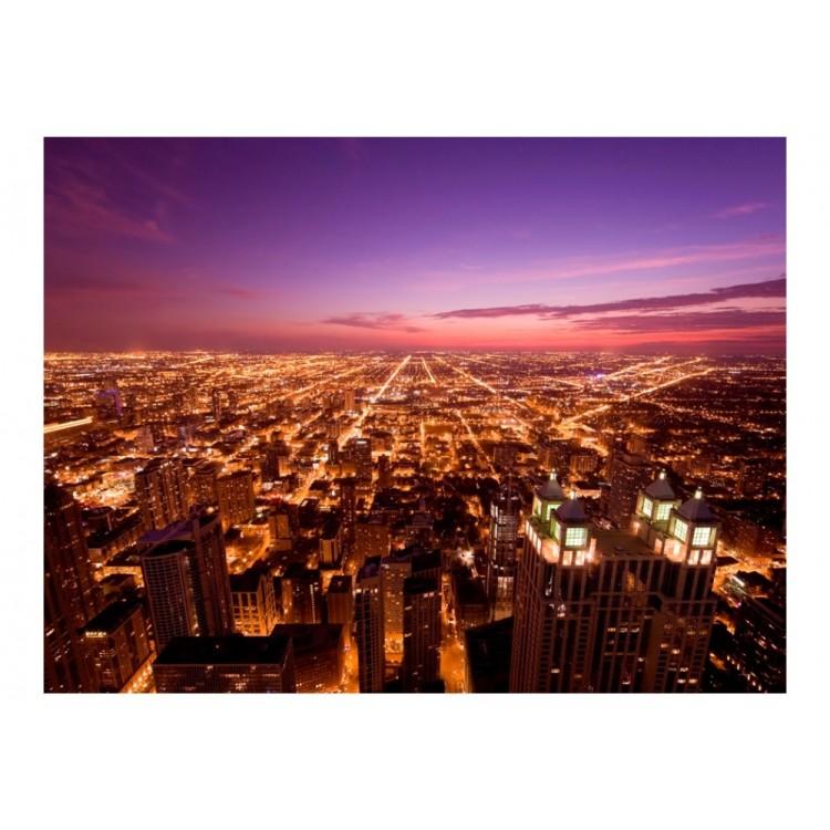 fotomurale chicago night
