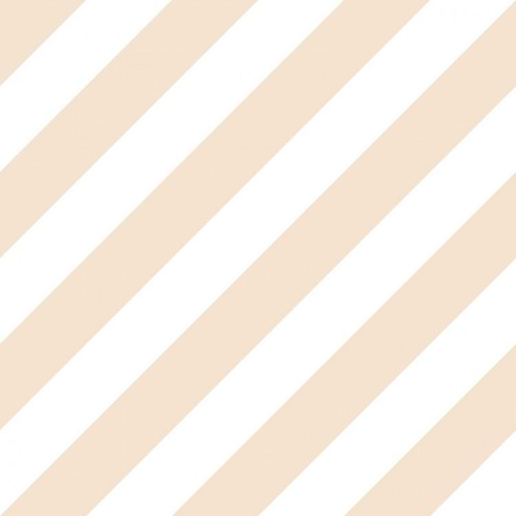 Carta da parati a righe beige e bianche oblique
