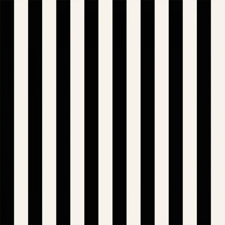 Carta da parati a righe nere e bianche medie in vinilico for Carta da parati adesiva a righe