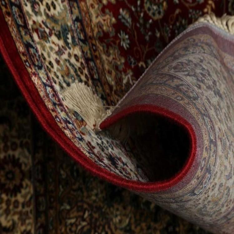 Tappeto persiano rosso decorazione funzionale per pavimento - Pulire tappeto persiano ...