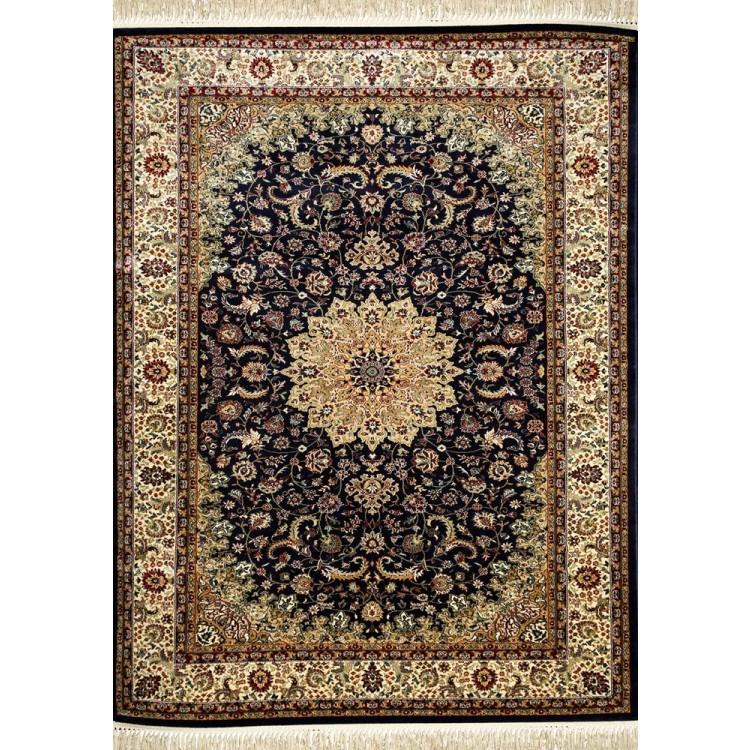 tappeto persiano blu