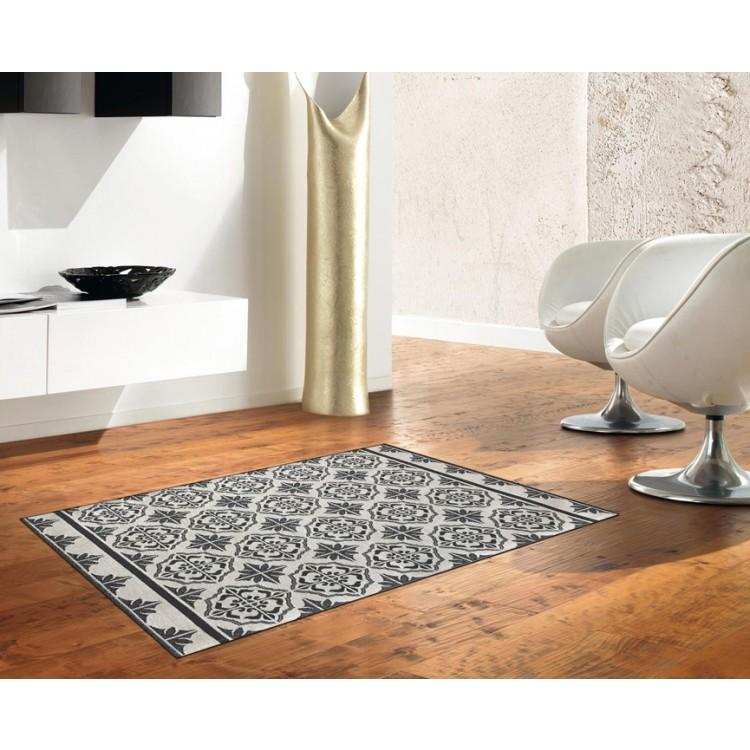 tappeto maiolica grigio