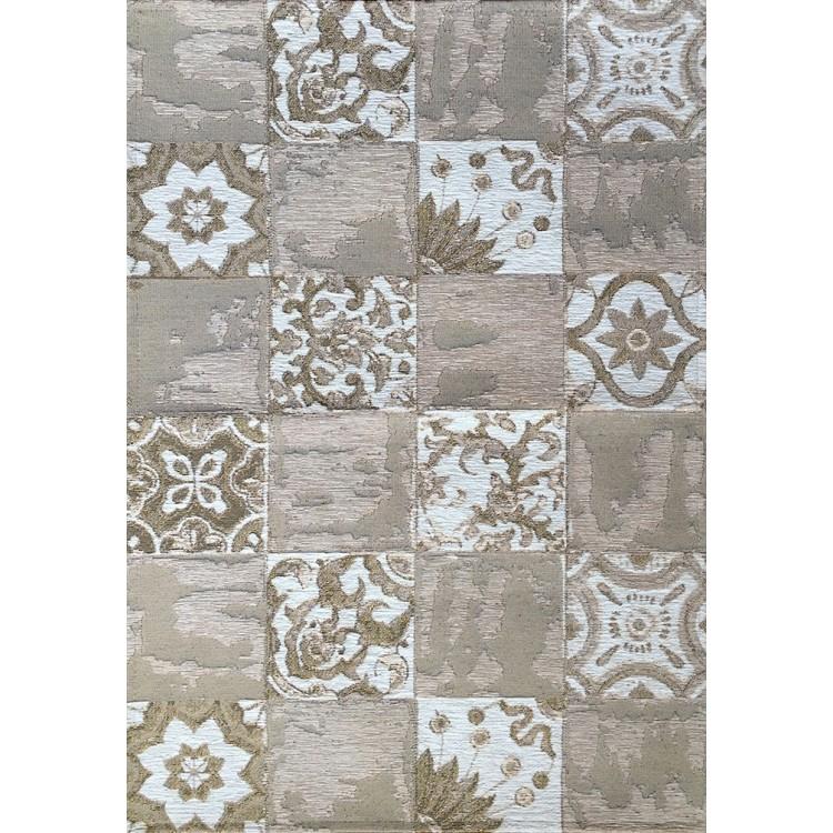 tappeto maiolica vintage beige