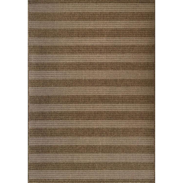 tappeto da esterno righe marrone