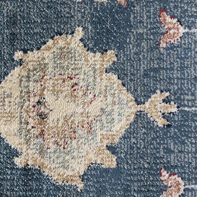 Tappeto Persiano Cangiante Azzurro