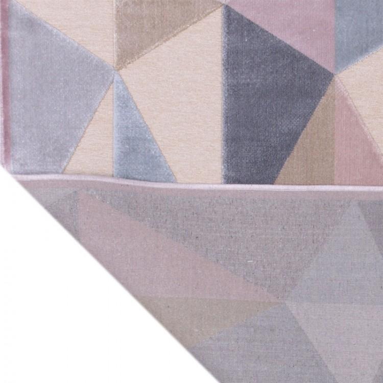 Tappeto Geometrico Blue Pink