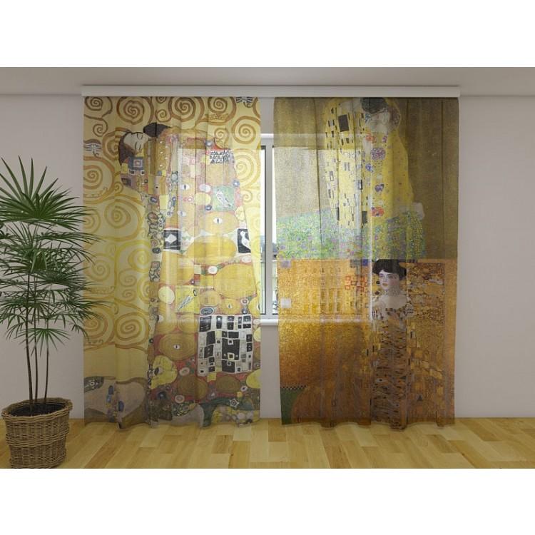 Tenda classica Klimt Collage