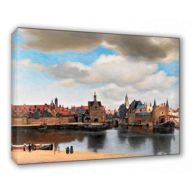 Veduta di Delft - Vermeer