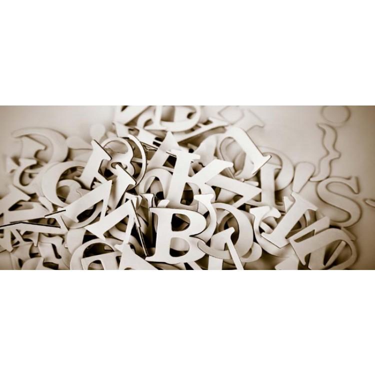 Dreamy fotomurali lettere