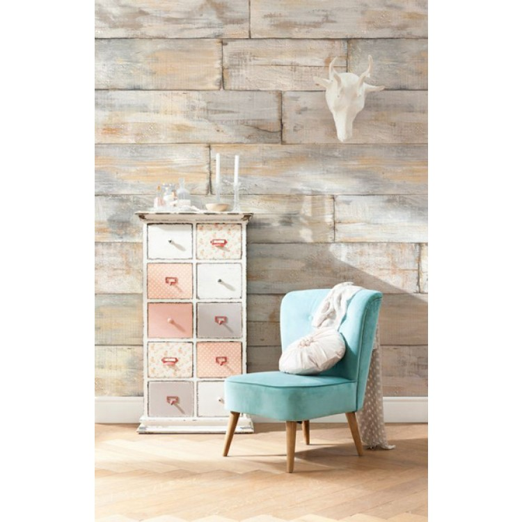Shabby Chic | Fotomurale in TNT ambientazione