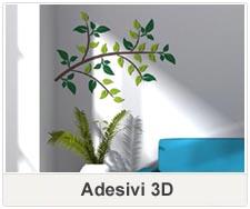 Adesivi tridimensionali rilievo 3D