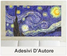 Adesivi murali d'Autore