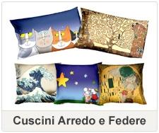 Tessile arredo biancheria per la casa con stampe decorative for Federe cuscini arredo