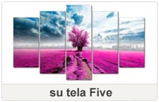quadri su tela five
