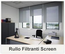 tende rullo filtranti screen